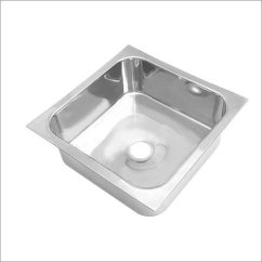 Square Kitchen Sink Aid Gas Grill Single Bowl