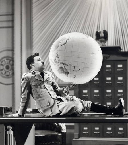 Chaplin In Great Dictator 1