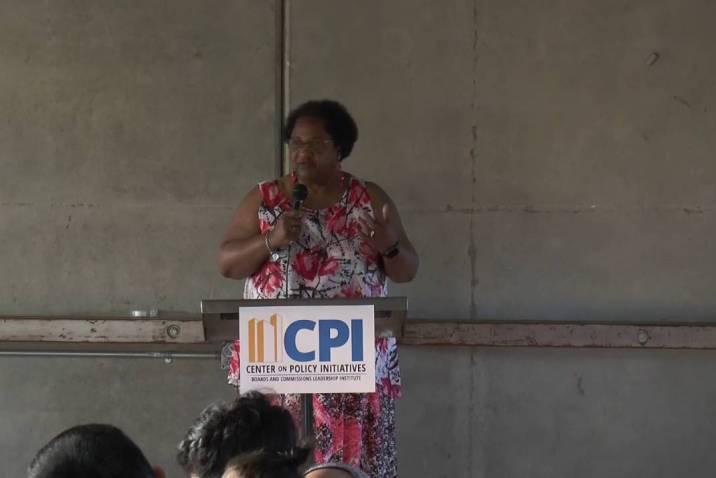 Assemblywoman Shirley Weber BCLI 2016 keynote