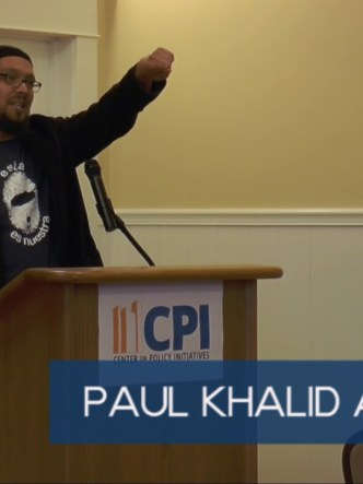 Paul Khalid Alexander SEJ 2017 keynote speech