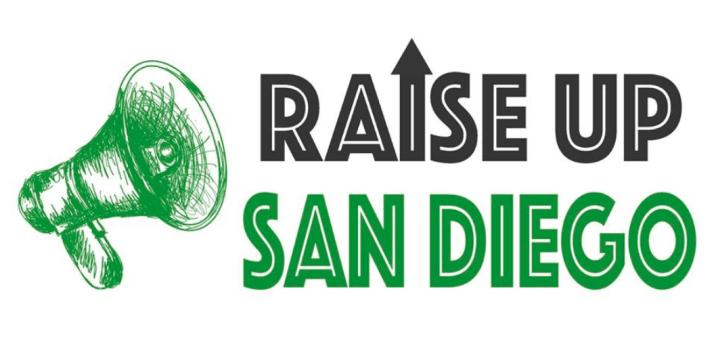 Raise Up San Diego Coalition logo