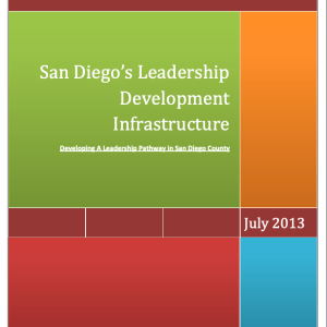 San Diego's Leadership Development Infrastructure (2013)