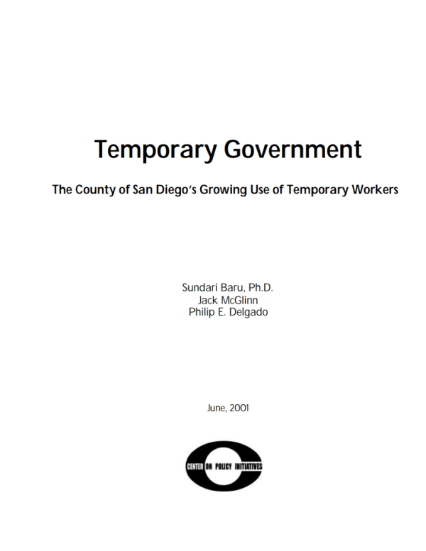 Temporary Government (2001)