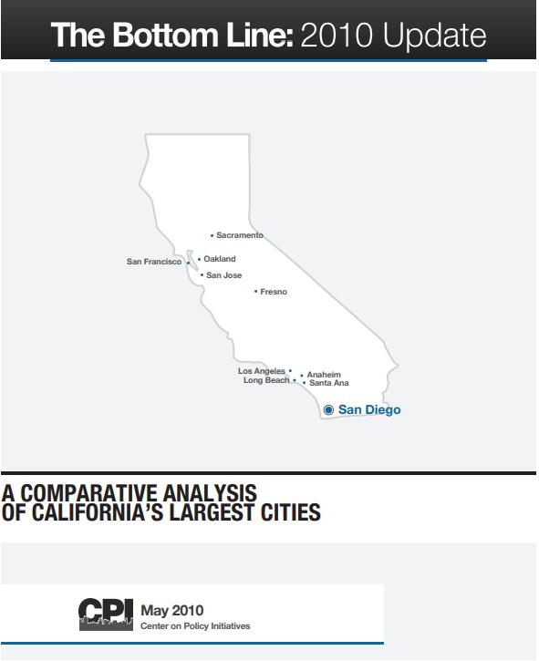 The Bottom Line San Diego City Budget, Revenue, Taxes