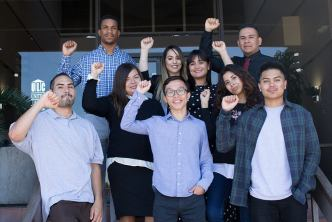CPI San Diego Students for Economic Justice Fellowship Group Photo 2019