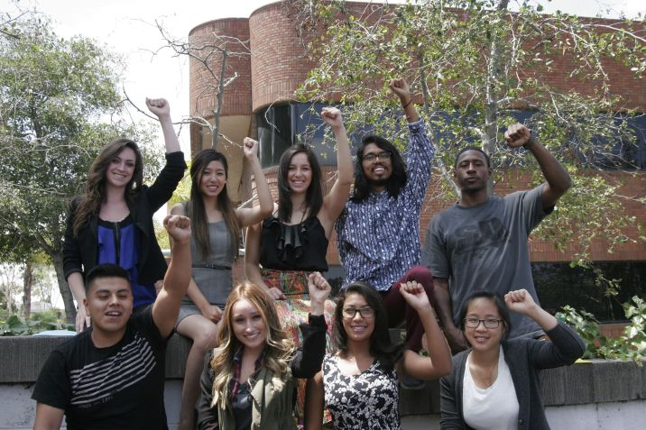 CPI San Diego Students for Economic Justice Fellowship Group Photo 2014