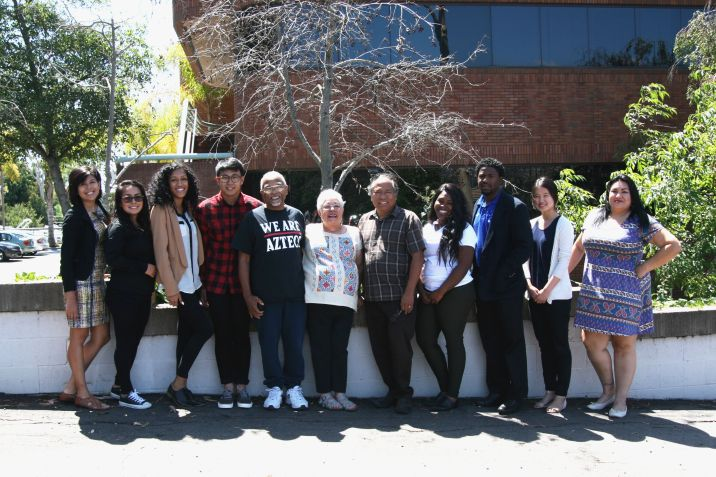 CPI San Diego Students for Economic Justice Fellowship Group Photo 2015