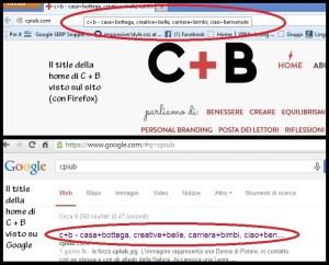 Il title: come vederlo sul browser e su Google