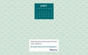 Calendario desktop scaricabile – Giugno