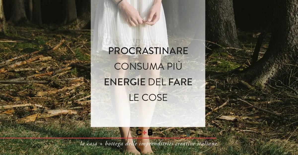 Procrastinare consuma più energie del fare le cose