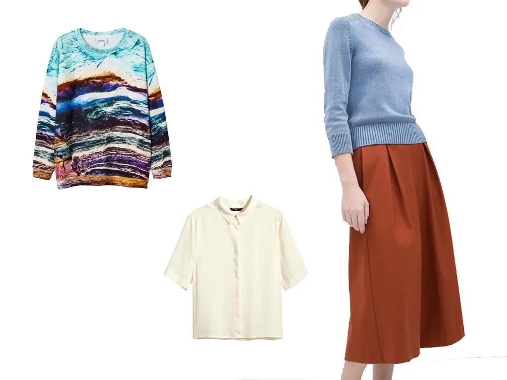 Outfit primavera SPG per C+B - culottes