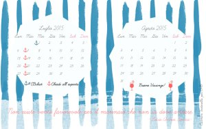Calendario desktop scaricabile estate 2015