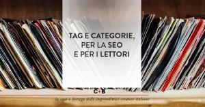 Come usare tag e categorie