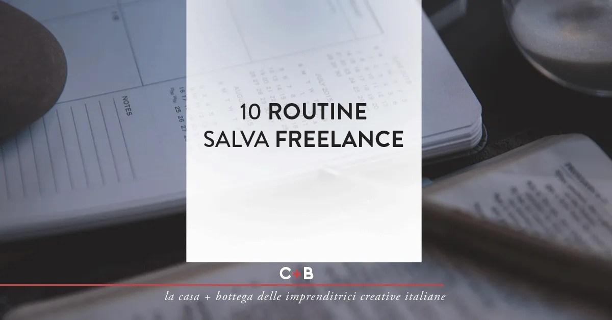 10 routine salva freelance