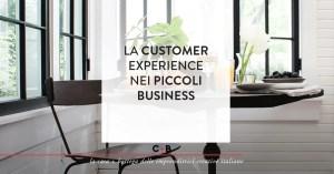 La customer experience nei piccoli business