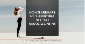 Aprire il negozio online: gli scogli da superare