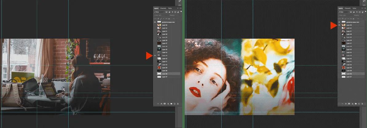 Usare oggetti avanzati su Photoshop
