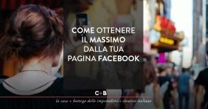 Pagine Facebook per imprese locali, crafter e libere professioniste