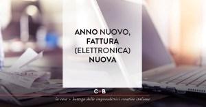 Anno nuovo, fattura (elettronica) nuova