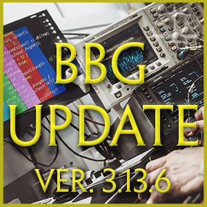 BBG Update 3.13.x