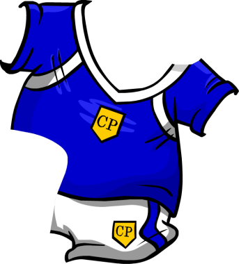 Blue Soccer Jersey2