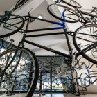 Forever (42 bicycles), Ai Weiwei