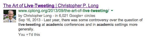 Chris Long Author G+