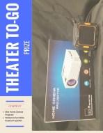Contents • Mini Home Cinema Projector • Waterproof portable bluetooth speaker
