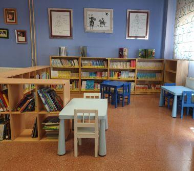 Biblioteca zona infantil