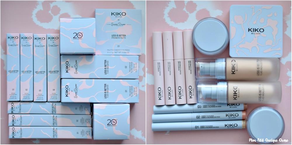 Kiko : la Collection Capsule Less is Better - Mon Petit Quelque Chose