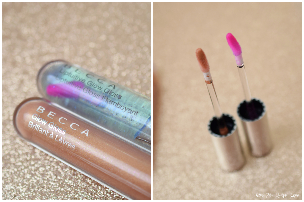 Hydra-Mist Set & Refresh Powder et deux Gloss de Becca - Mon Petit Quelque Chose