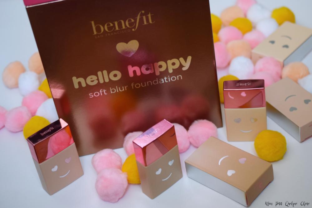 Hello Happy, le nouveau fond de teint de Benefit