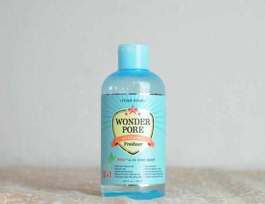 Wonder Pore d'Etude House ou la lotion qui rend nos pores tout riquiquis!