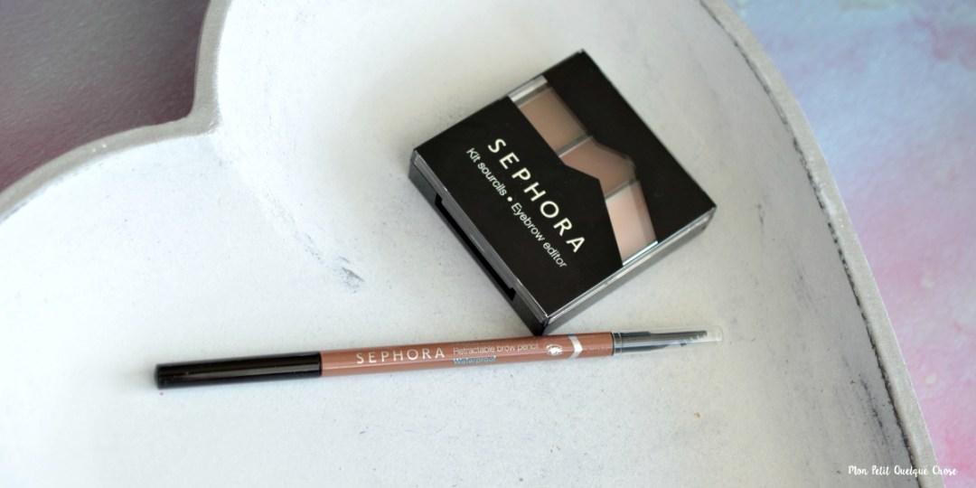 Mes Sourcils avec Sephora - Mon Petit Quelque Chose