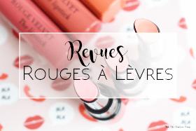 revues rouges à lèvres