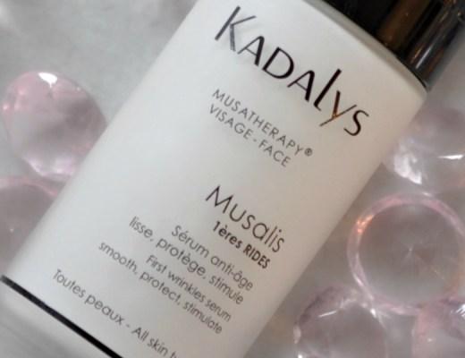 Musalis, le Sérum premières rides de Kadalys - Mon Petit Quelque Chose