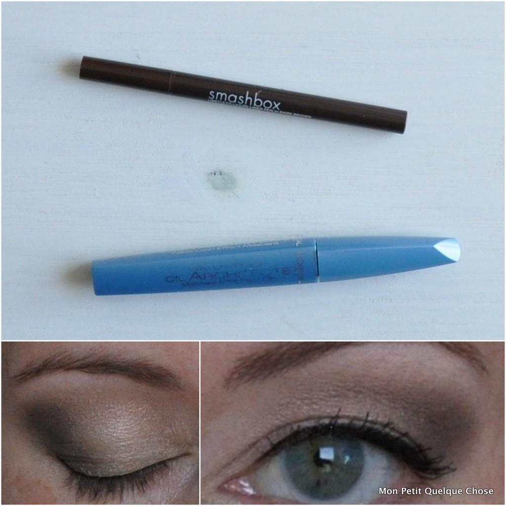 Makeup avec MAC : Smashbox Liner pen /Lash architect L'Oréal