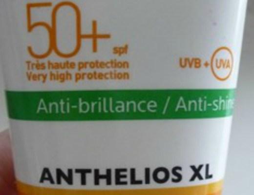 Anthélios XL, la protection solaire spéciale visage de la Roche-Posay.