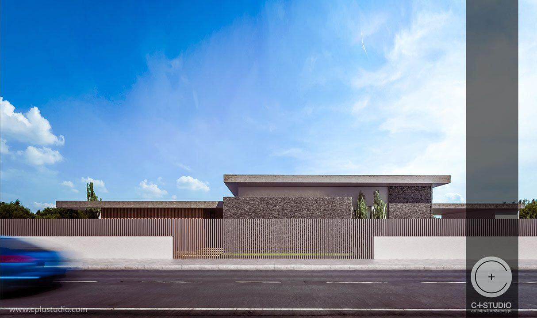 Sa Private House Architecture Design Larnaka C Studio