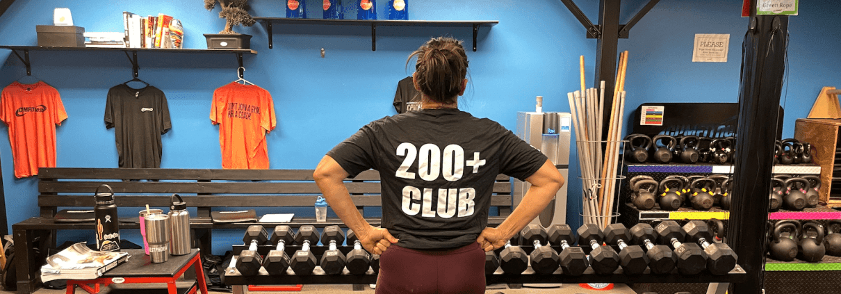 200 Club at CPM Fitness in Sioux Falls