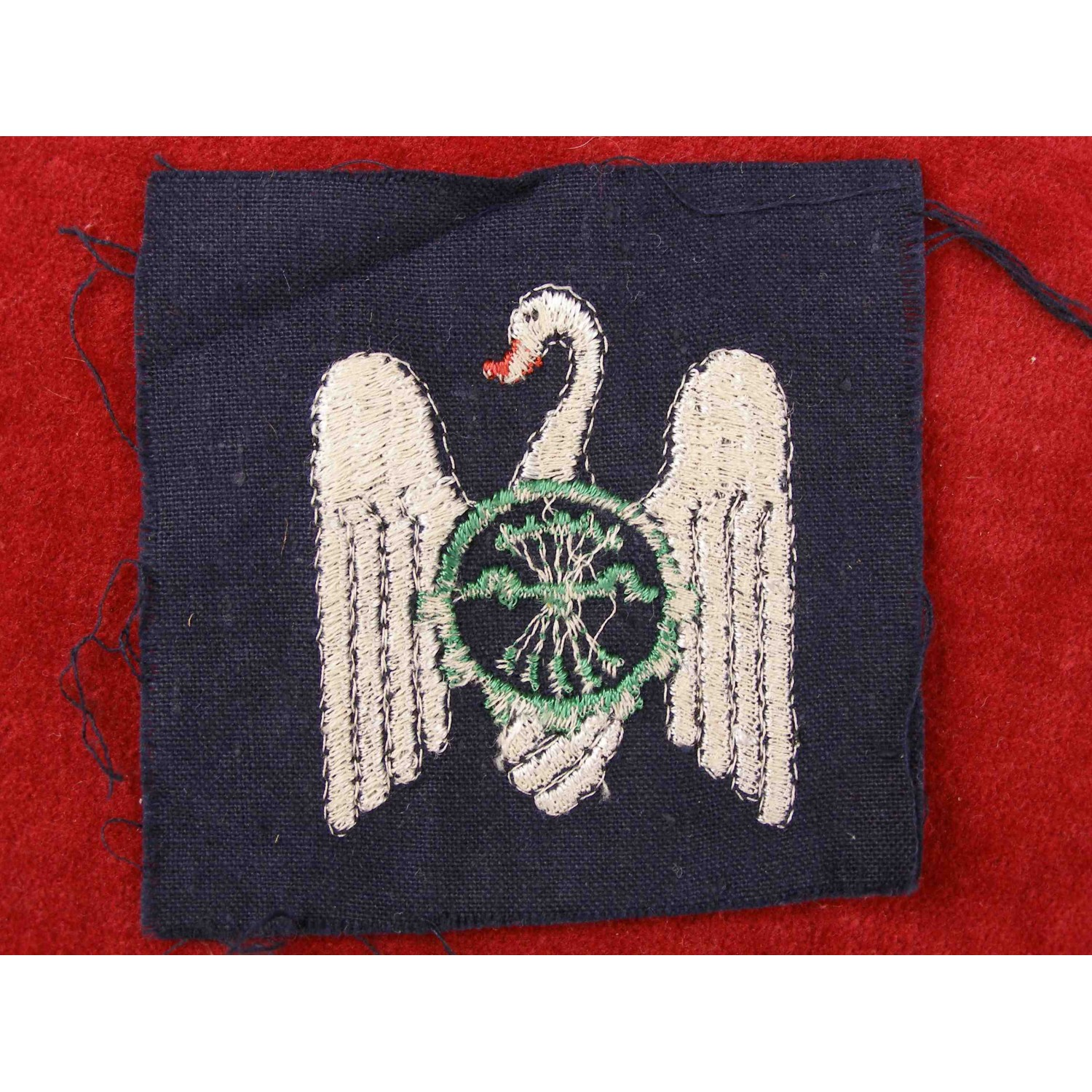 Spanish Civil War Nationalist Youth Cloth Badge