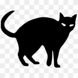 Black Cat Clipart Logo Black Black Cat Easy Drawing Png Download #3903882 PikPng