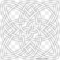 Celtic Patterns Celtic Designs Celtic Quilt Coloring Pink And Black Background Clipart #4847670 PikPng