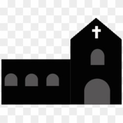 Png File Svg Church Puzzle Clipart Black And White Transparent Png #490992 PikPng