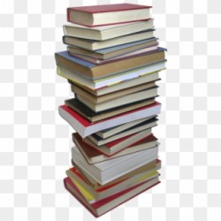 Picture Stack Of Books Transparent Background Clipart #50752 PikPng