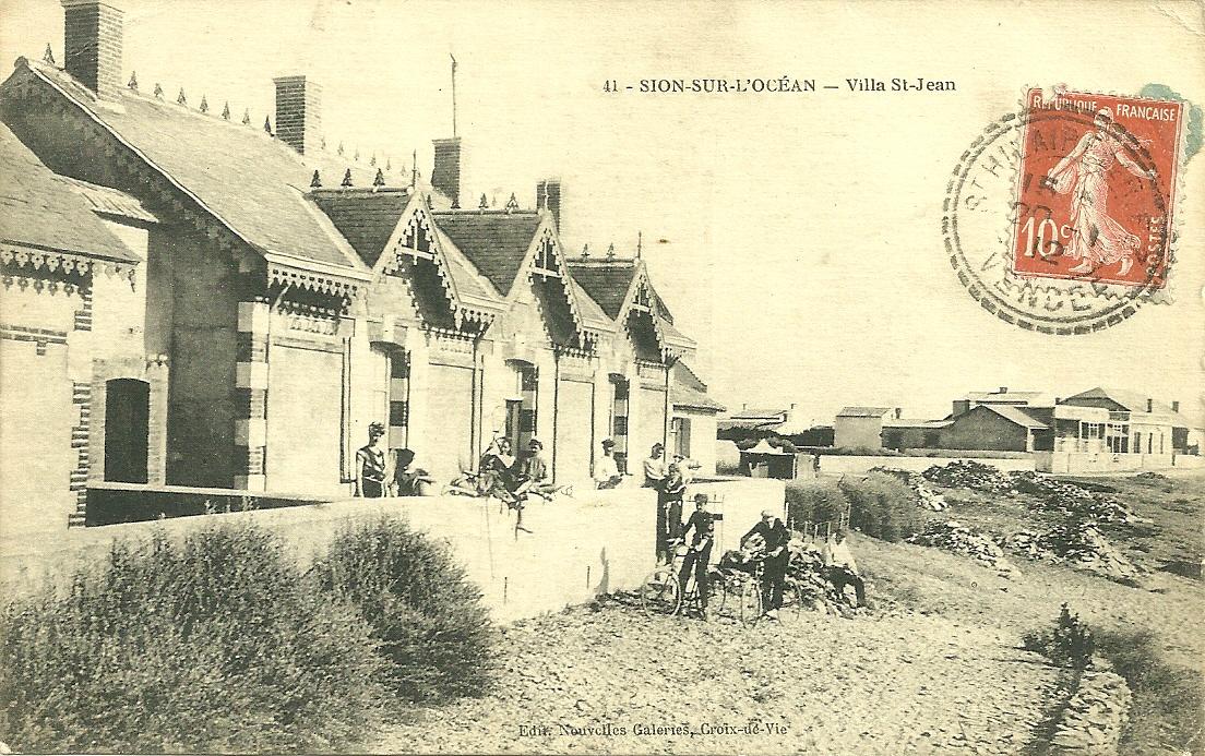 Villa Saint-Jean à Sion-sur-l'Océan