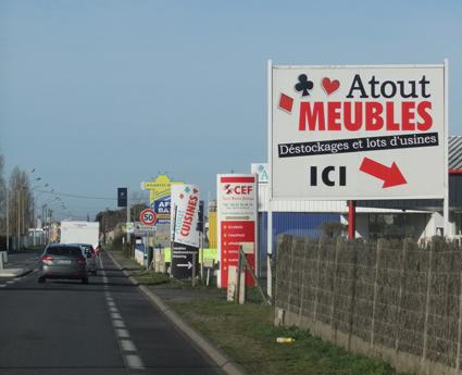 Entrée de Saint-Gilles-Croix-de-Vie