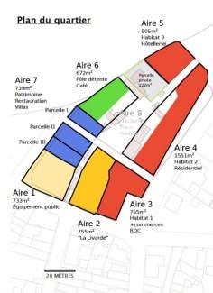 Plan du quartier