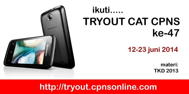 tryout cpns