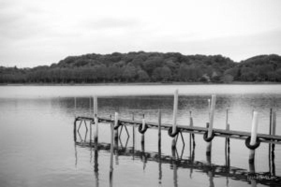 佐鳴湖の桟橋
